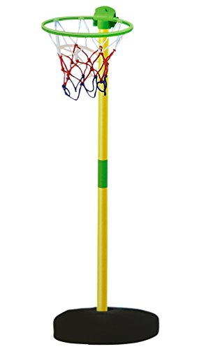 Toyshine Complete Basketball Game For kids Including Height Adjusting Net, Basketball