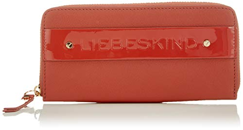 Liebeskind Berlin Damen Soshopper Sally Wallet Large Geldbörse, Rot (Hot Red), 2x9x19 cm