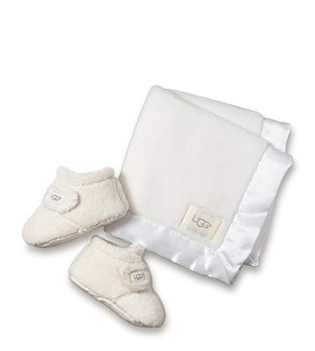 UGG® Bixbee Bootie and Lovey Blanket Kinder Stiefel Weiß