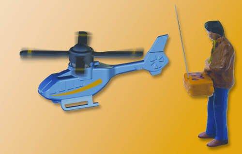 Viessmann 5163 - H0 Hobbypilot mit ferngesteuertem Hubschrauber