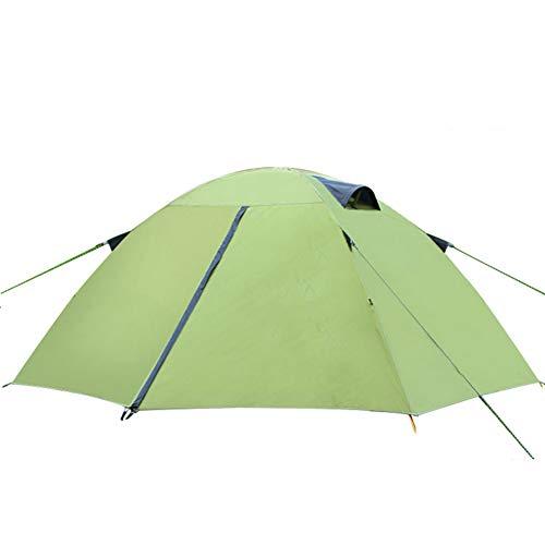 TonXiory Ultraleicht Zelt,Camping Picknick wandern Strand Anti-regensturm verdicken Zelt Outdoor-aktivität Wasserdichte Sonne unterstände-grün 220x210x110cm(87x83x43inch)