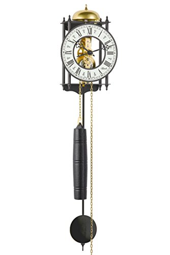 Hermle Pendulum Clocks 70974-000711 wall clock
