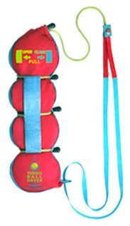Tennisball- Trockner - 4 -in-1 Tennis Zubehör Tennis Gadget - Inklusive 4 tollen Funktionen in 1 Tennisspieler