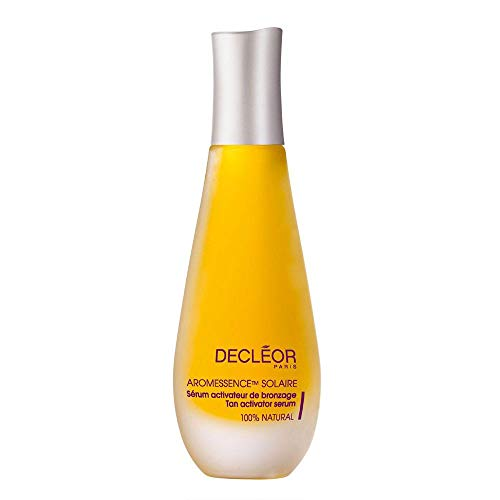 'Decleor' Aromessence Solaire Body Tan Activator Serum 15ml, A 100% natural serum to prepare all skin types for sun exposure and boost tanning. - Long Lasting Moisturising Cream