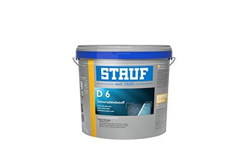 Stauf 141180 Universal-Klebstoffe für textile und elastische Beläge D 6 Super, 15kg