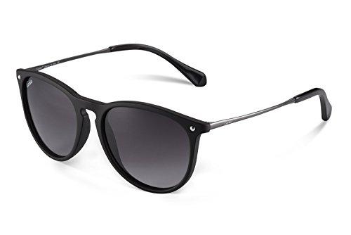 Carfia Vintage Polarisierte Damen Sonnenbrille Fahrer Brille 100% UV400 Schutz für Autofahren Reisen Golf Party und Freizeit - Super Leicht aus Metallrahmen