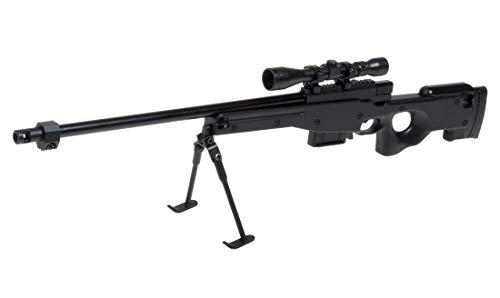 Ghost Modèle réduit d'arme factice-Maquette décorative en métal avec Support de présentation-A Collectionner : kit n°4 Fusil Sniper AW 308