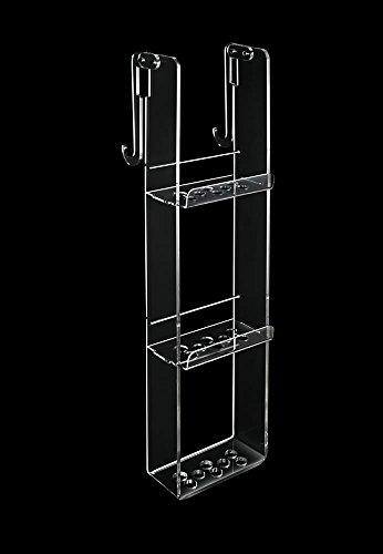 Tl.bath 2113/c/tr portaoggetti, 3 piani con gancio