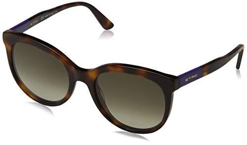 Etro et636s 230 54 occhiali da sole donna, viola (havana/purple),