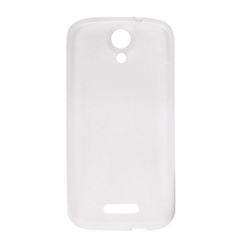 Guran® Weiche Silikon Hülle Cover für Doogee Nova Y100X Smartphone Bumper Case Schutzhülle-Transparent weiß