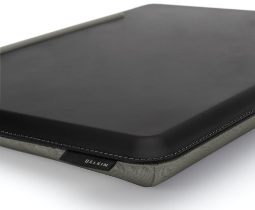 Belkin Cushdesk Kniekissen Unterlage fr Notebooks Laptops 445x345x4 cm grau schwarz Notebooks