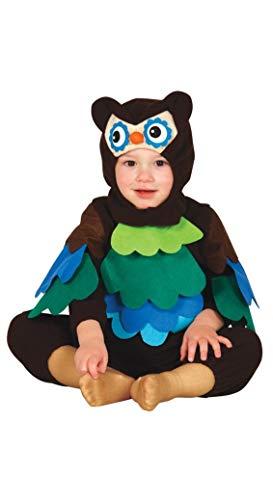 Baby Eule Kinder Kostüm Fasching, Größe: 12 - 24 Monate