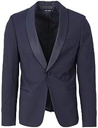 Antony Morato Uomo Giacca Skin con Rever in Contrasto MMJA00366-FA600104  Super Slim 7396a4ba714