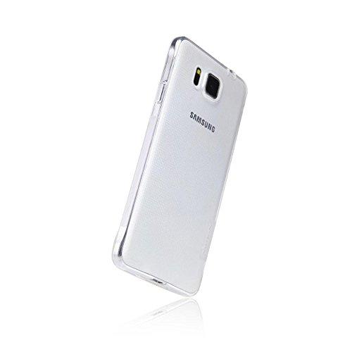 ded8bb8fb22e4a GiXa Technology TPU Silikon Case Ultra Dünn, Elastisch und Rutschfest für  Samsung Handy Smartphone.