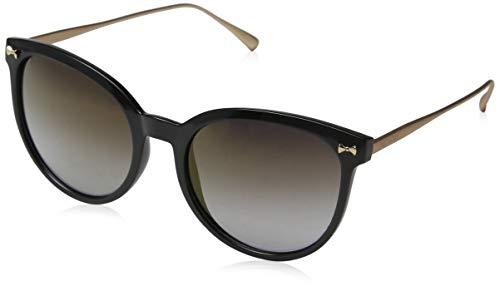 Ted Baker Damen Maren Sonnenbrille, Schwarz (Black/Grey), 56.0