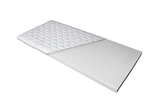 Betten Jumbo Luxus 7-Zonen Viscoschaum-Topper 180x200 cm mit Memoryschaum, Matratzenauflage mit Klimalochbohrungen und ergonomischen Liegezonen für höchsten Schlafkomfort
