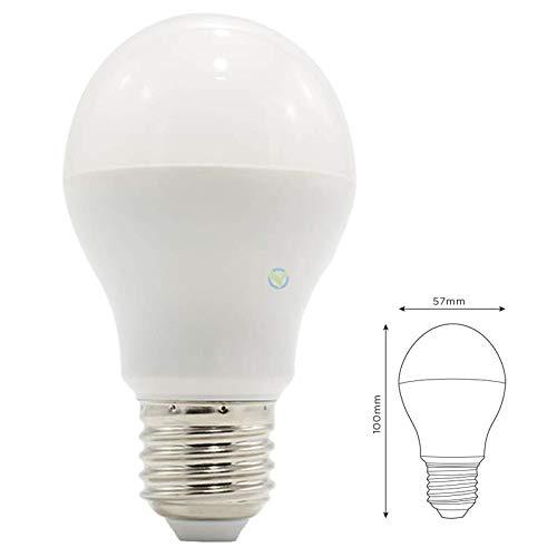 LED E27bombilla (RGB + CCT soposh Blanco tonos y cambio de color) Bombilla zigbee compatible con Hue Multicolor y blanco cálido de color blanco frío, Rgb+cct Weißtöne und Farbwechsel 6.00W 220.00V