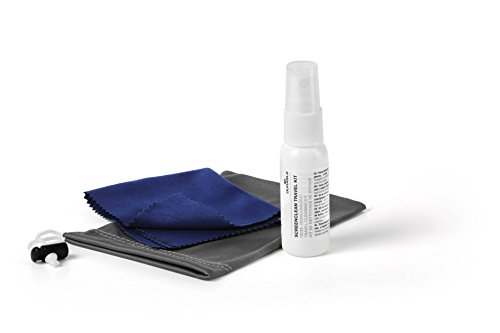 Durable 584400 Screenclean Reise-Reinigungsset für Tablets, Smartphones, E-Reader etc., Beutel mit 1 Mikrofasertuch + 25 ml Reinigungsflüssigkeit