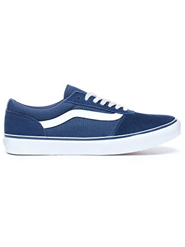Vans Damen Maddie Suede/Canvas Sneaker, Blau ((Suede/Canvas) Navy R71), 36 EU