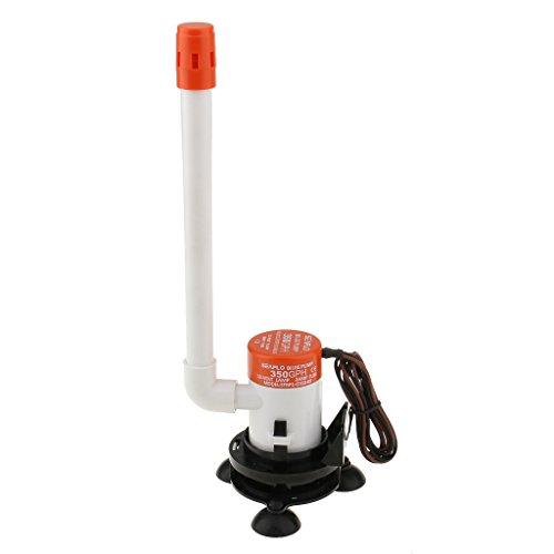 350 Gph Pump Kit (Almencla SEAFLO 350 GPH 12V Brunnenwasserpumpen Kit SFBP1 G350 09)