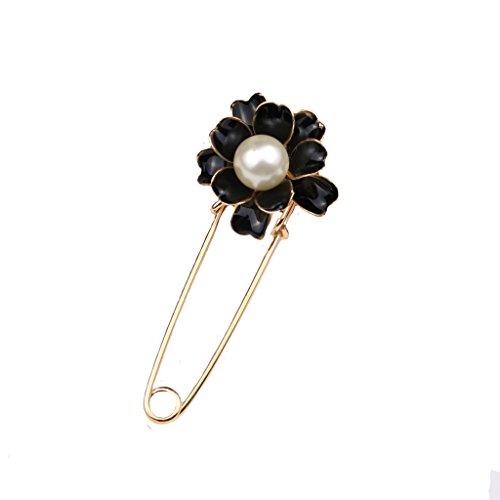 elegante-dama-de-camelias-perla-flor-broche-chal-hebilla-joyas-negro