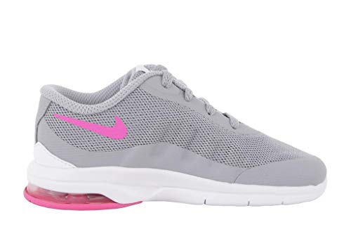 Nike Baby Jungen Air Max Invigor (TD) Schuhe für Neugeborene, Rosa/Gris/Blanco (Wolf Grey/Hypr Pink-Cl Gry-Wht) 26 EU