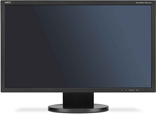 NEC AccuSync AS222WM 215 inch Widescreen LED Monitor Black 169 1920x1080 10001 5ms VGA DVI D Products