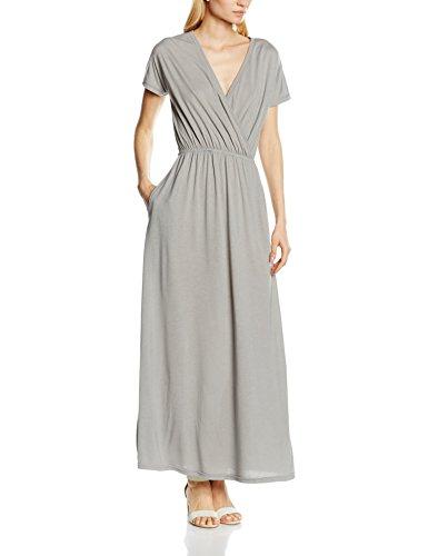 Hot Squash Maxi, Vestito Donna Dove Grey