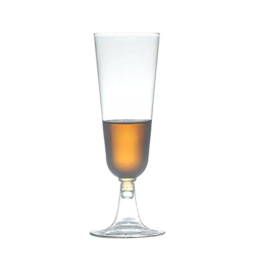 g Champagner Kunststoff Glas/Flöte rot Wein Glas klar Party Champagner Cup Glas 6er-Set/12 ()