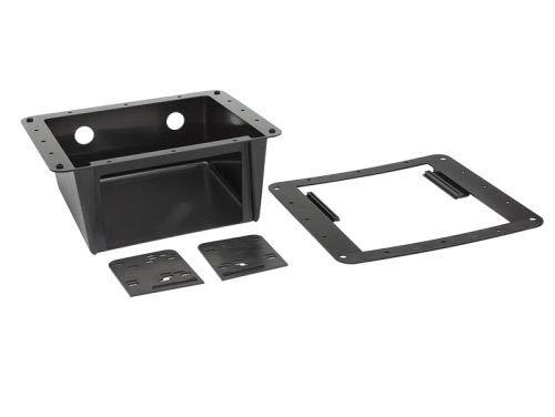 Radio Halterung Universal Unterbaukonsole für 2 DIN Geräte 2 Din Kit