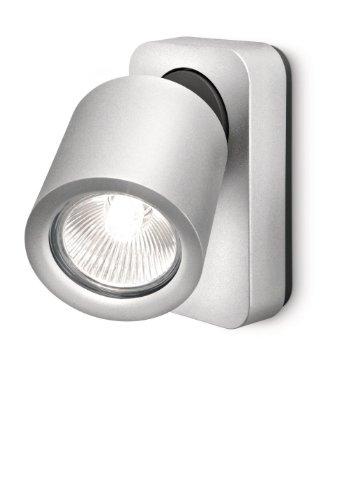 Lirio Wandstrahler Aluminium GU10, grau 7.2 x 12.2 x 12.4 cm