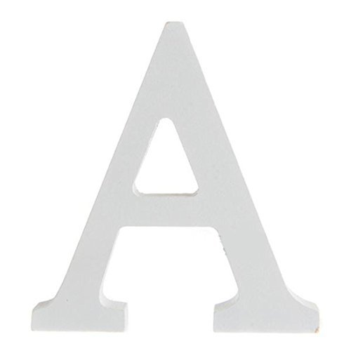 Letra de madera decorativa, ideal para bodas, fiestas, cumpleaños o decoración del hogar