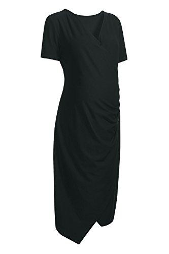 next Femme Robe Moulante (Maternité) Noir