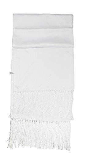 Formal TailorHerren Schal Weiß Weiß Formale Schal