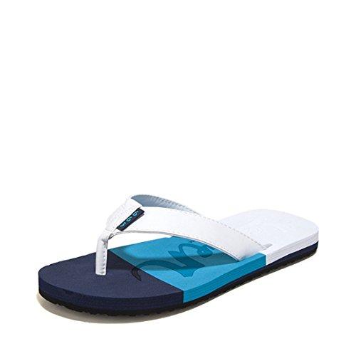 Men's Beach Flip Flops Outdoor Slippers blue