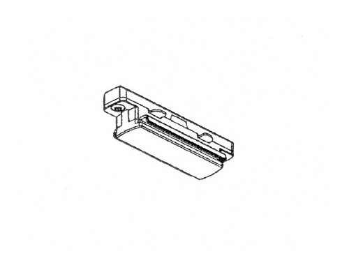 aric raccord en ligne blanc rail électrique intérieur 1