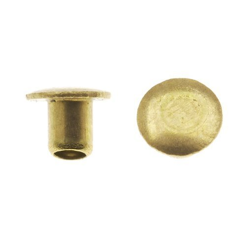 Metal Elements Solid Aluminum 1/4 Inch Nail Head Rivets 1.3mm Diameter (100) by Metal Elements (English Manual)