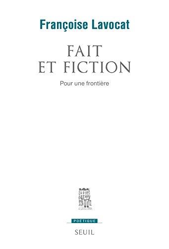 Fait et fiction. Pour une frontière