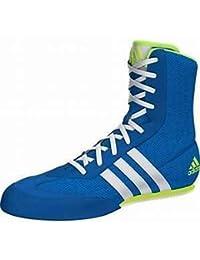 check out e6562 4ecc6 adidas UK10 Boîte à Chaussures de Boxe Bleu ...