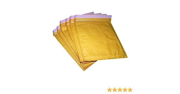 White Padded Bubble Envelopes A7 Jewellery 90x145mm STG 1-100 Envelopes