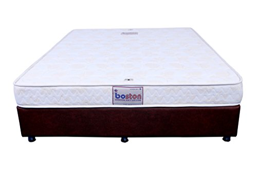 Boston Orthopaedic 6-Inch Queen Size Off-White Dual Comfort Hard & Soft Foam Mattress (72X60X6)