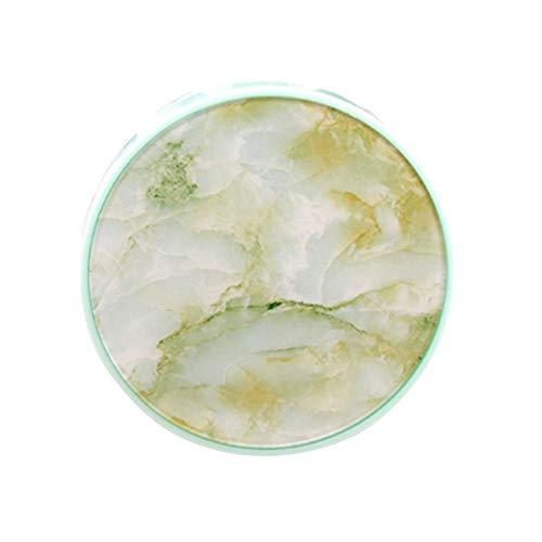Marmorierbarer Kontaktlinsenbehälter Kosmetische Kontaktlinsen Praktischer Fall Begleitbox Tragbar