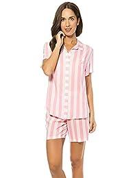LOHE Pijama Rayas Abierto