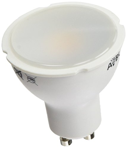 A2BC LED Lighting Bombilla LED GU10, 8 W, Blanco Cálido 3000K, 5...