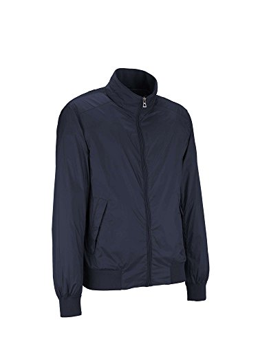 Geox Herren Mantel Man Jacket Blau
