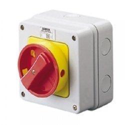 Gewiss GW70435 WAND-DREHSCHALTER 3P 32A IP65 ROT.DREHGE