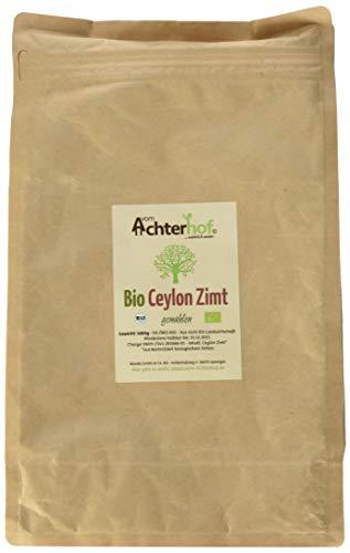 Bio Ceylon Zimt gemahlen (1kg) mit wenig Cumarin in premium Qualität | 100% ECHTES Bio Ceylon Zimt Pulver