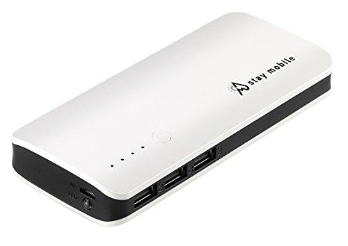 stay-mobile-Power-Bank-22400-mAh-latest-Technology-3-USB-Output-Portable-Charger-and-External-Battery-for-iPhone-iPad-iPod-Samsung-Galaxy-and-different-Smartphones-and-Tablets-from-stay-mobile