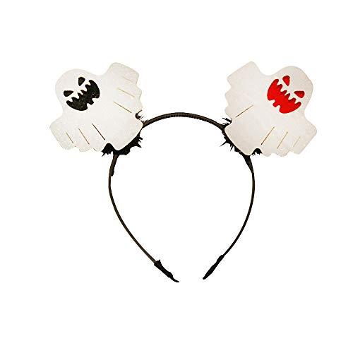 Hunde Kostüm Eisbär - YWLINK Halloween-Stirnband Süß Cartoon Haarband KüRbis-Kopfbedeckung Halloween Dekoration FüR Damen MäDchen(E,Einheitsgröße)