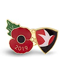 The Royal British Legion Cheltenham Poppy Football Pin 2019